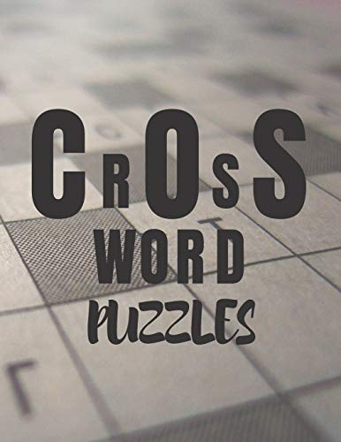 crossword puzzles: Brain Games For Seniors Large Print