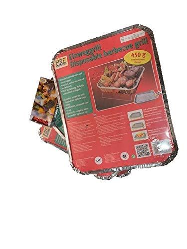 41x4pDSi4wL - Km Art. 905 Kombi-Paket Grillen - 3X Einweggrills 365 + 1 Schachteln Zündhölzer 1523