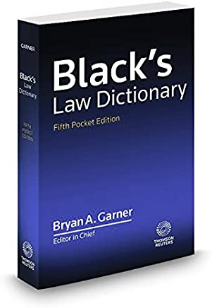 Black's Law Dictionary, Fifth Pocket Edition