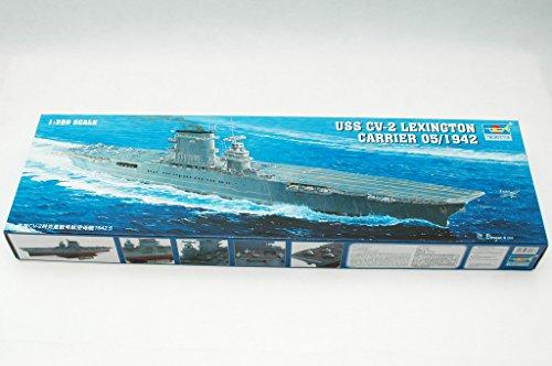 Trumpeter 05608 Modellbausatz Flugzeugträger USS Lexington CV 2
