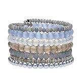 langani Armband Dali - hellblau, Wickelarmband für Damen, Spiralarmband, Handmade Since 1952