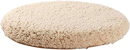 Set Of 4 Chair Cushions Detachable Non-slip Seat Pad With Zipped Round Soft Chair Cushion Plush Breathable Seat Cushions For Kitchen Garden Dining Room Indoor Outdoor Office Chair Etc