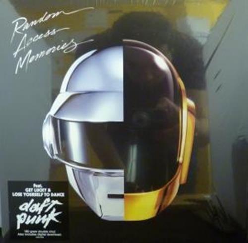 RANDOM ACCESS MEMORIES LP (VINYL ALBUM) EUROPEAN COLUMBIA 2013