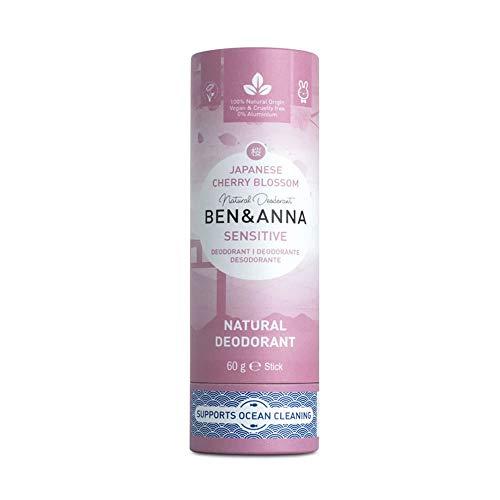 Ben&Anna Sensitive Papertube - Desodorante japonés (60 g)