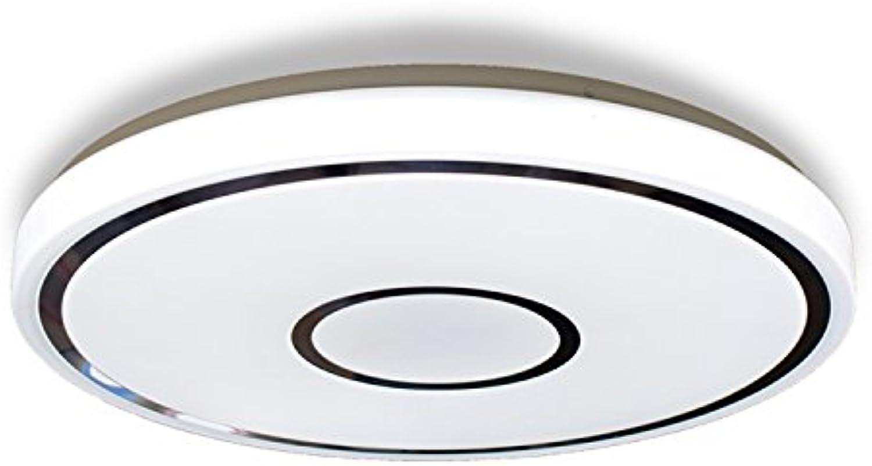 BINJG LED Acryl Deckenleuchte 5cm ultradünne Runde Moderne Deckenleuchten Wei minimalistischen Schlafzimmer Wohnzimmer Lampe Gang Haus Dekoration Lampen, 49cm