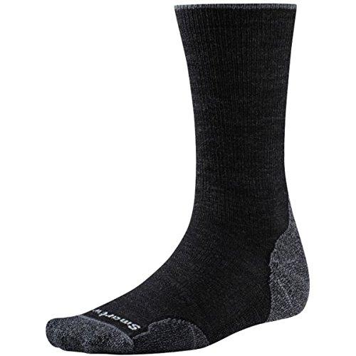 Smartwool PhD Outdoor Light Crew Socks, Large, Charcoal