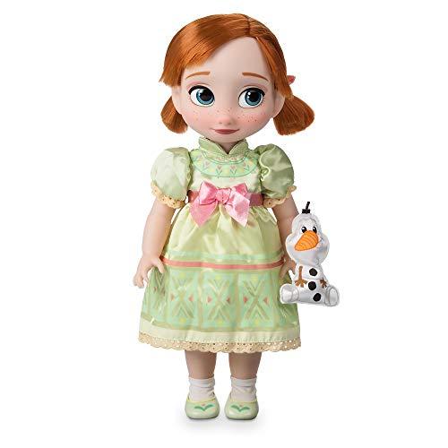 Disney Animators' Collection Anna Doll - Muñeca congelada, 40,6 cm