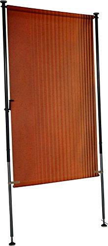 Angerer Balkon Sichtschutz Nr. 100 orange, 120 cm breit, 2316/100
