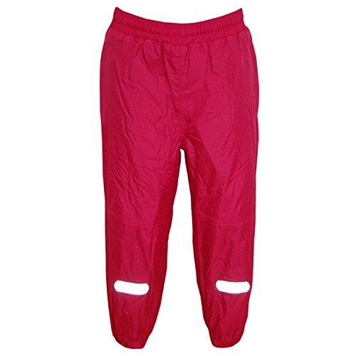 Outburst - Mädchen Regenhose Matschhose Fleecefutter wasserundurchlässig, pink, Größe 98
