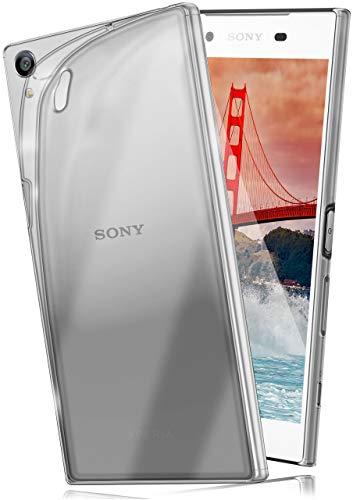 moex Aero Hülle kompatibel mit Sony Xperia Z5 Premium - Hülle aus Silikon, komplett transparent, Klarsicht Handy Schutzhülle Ultra dünn, Handyhülle durchsichtig einfarbig, Klar