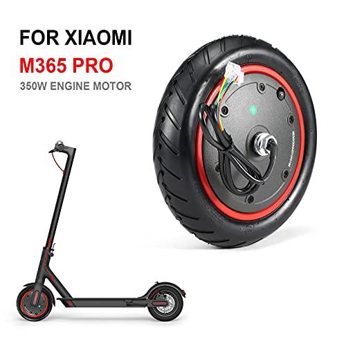 Bifurcación de bicicletas Motor de scooter eléctrico de 350W para M365 PRO / M365 Motor de absorción de choque del motor Accesorios de la scooter de la rueda Soporte de montaje con horquilla de bicicl
