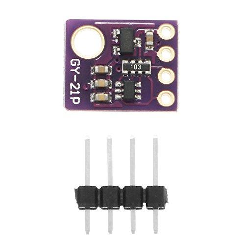 Sensor & Detector Módulo 5pcs GY-21P Sensor de Temperatura Humedad Atmosférica Breakout Presión Barométrica BMP280 SI7021 Para