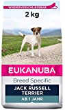 Eukanuba Breed Specific Jack Russell Terrier Trockenfutter - optimal auf die Rasse abgestimmtes Premium Hundefutter mit Huhn, 2 kg