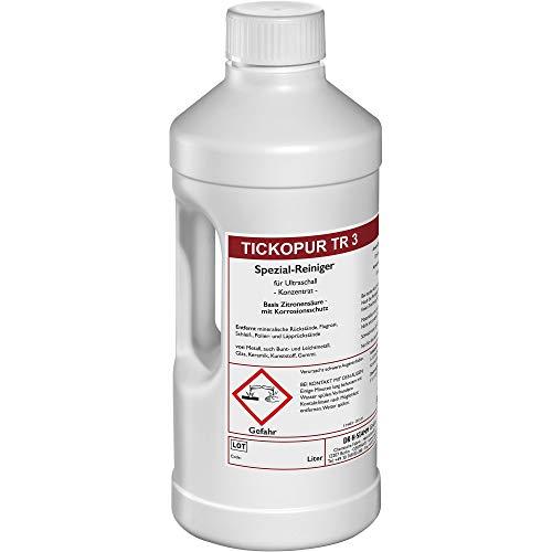 TICKOPUR TR 3 Ultraschallreiniger Reinigungs-Konzentrat 2 Liter