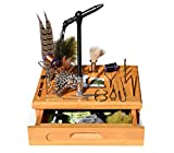 Creative Angler Wooden Fly Tying Station with...