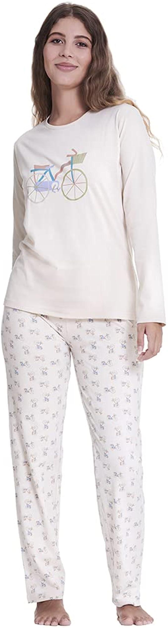 171 opinioni per PimpamTex- Pigiama da donna e ragazza in cotone, set con pigiama invernale e