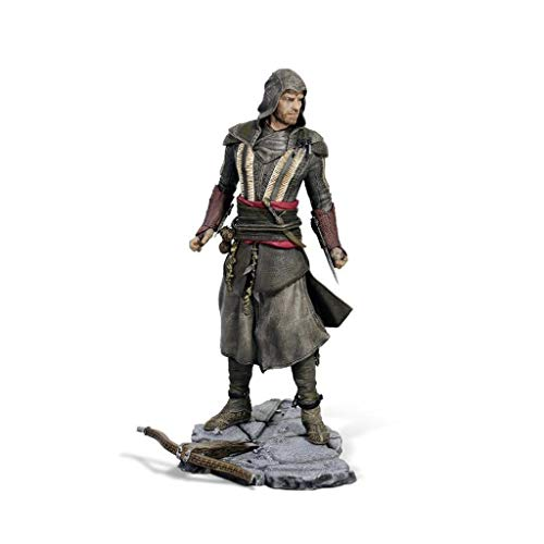 LBBD Busto Creed Assassin Batas de Aguilar de la película Asesino Estatua Figura de acción Exquisita Caja - 9.5inch