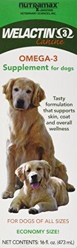 Welactin Omega-3 Skin and Coat Support Liquid, 16 oz