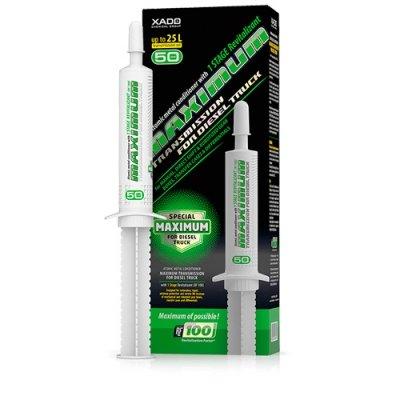 XADO - Additivo per olio per cambio manuale, per trasmissione massima atomica, in metallo