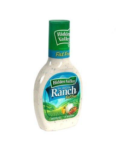 Hidden Valley Ranch Dressing, Fat-free Original, 16oz