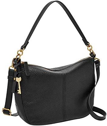 Fossil Women s Jolie Leather Crossbody Handbag Black product image