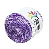 Yarn for Crocheting 1.76 Ounce(50g) Chunky Yarn Skeins Cotton Baby Blankets Yarn Bulk for Knitting and Crochet DIY Handcrafts