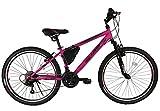 Ümit Bicicleta 24' XR-240, Juventud Unisex, Rosa, Mediano