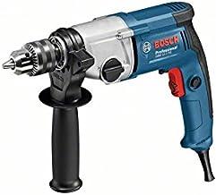 Bosch GBM 13-2 RE Professional Sin llave Negro, Azul, Acero inoxidable 3000 RPM 2,4 kg - Taladro eléctrico (3000 RPM, 1,3 cm, 3,2 cm, 39,5 Nm, 2 cm, 7,5 m/s²)