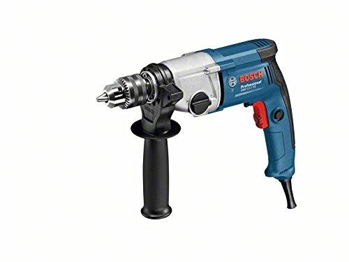 Preisvergleich Produktbild Bosch Professional 06011B2001 Professional GBM 13-2 RE Bohrmaschine,  Zahnkranzbohrfutter 13 mm,  750 W,  230 V,  Schwarz,  Blau,  Edelstahl