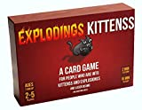 Asmodee Explodings Kittenss: A Card Game About Kittens and Explosions and Sometimes Goats, Englisch