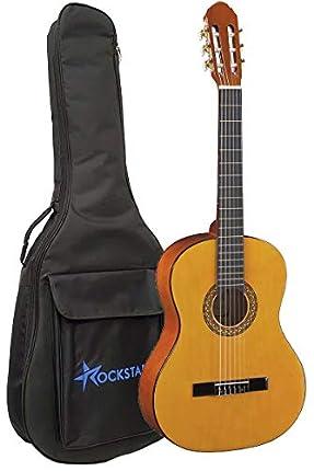 Guitarra Clásica Española Romanza mod Primera 4/4 con Funda 8mm espesor calidad y precio - Rockmusic España