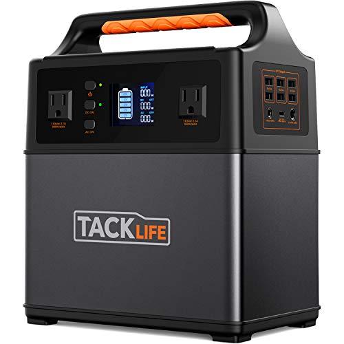 TACKLIFE ポータブル電源 400Wh/110000mAh 家庭用蓄電池 非常用電源 正弦波 大容量 AC/DC/USB/Type-C出力 5...