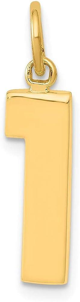 Charm Pendant 14K Yellow Gold 2021 Super-cheap Themed 1 Medium mm Casted Pol 22 5
