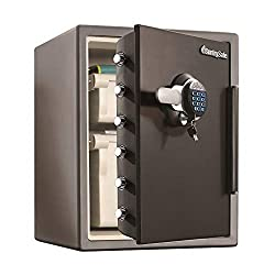 SentrySafe SFW205GQC Fireproof Safe and Waterproof Safe