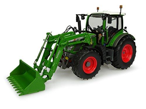 Universal Hobbies UH4981 Uh4981 - Tractor Fendt 516 Vario con Cargador Frontal, Color Verde