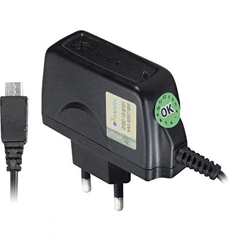 Carregador de Celular Micro USB Bivolt, XCELL, XCCPV8, Preto
