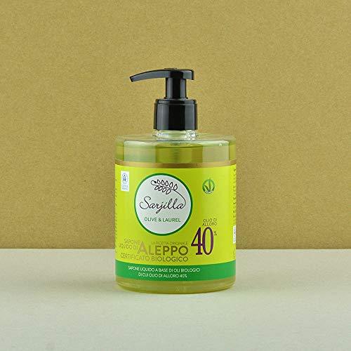 Flüssig Seife Alepposeife Olivenöl Lorbeeröl Shampoo Handwaschseife Duschgel 60% Olivenöl 40% Lorbeeröl