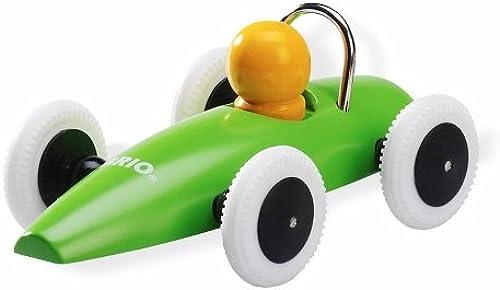 Brio Holzspielzeug Autos Rennwagen Grün