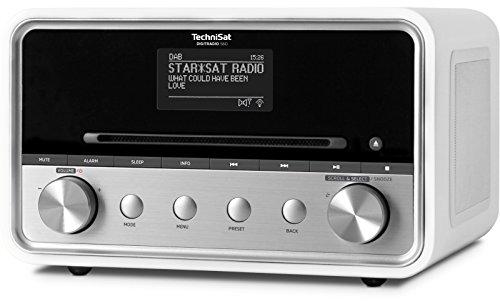 TechniSat DIGITRADIO 580 – Stereo Digitalradio mit CD-Player Internetradio mit Multiroom-Streaming, Bluetooth, Steuerung per App, 2 x 10 Watt) weiß - 4