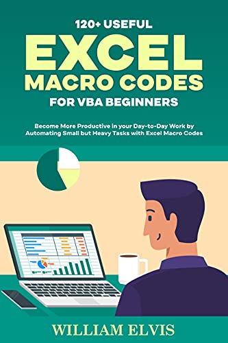120+ USEFUL EXCEL MACRO CODES FOR VBA BEGINNERS: Become More Productive in your Day-to-Day Work by Automating Small but Heavy Tasks with Excel Macro Codes (English Edition)