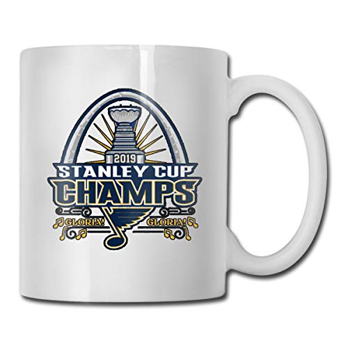 antfeagor St Louis Blues Stanley Cup Champions 2019 Funny Coffee Mug - Best Mom & Dad Gifts - Gag Mother's Day Present Idea from Daughter, Son, Kids - Novelty Birthday Gift for Parents Tea Mug