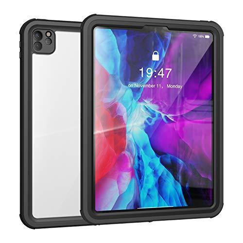 Funda impermeable para iPad Pro 11 (2ª generación) 2020, resistente al agua, con protector de pantalla integrado, absorción de golpes, resistente al polvo, sumergible