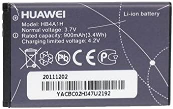 Huawei HB4A1H Battery M318 U2800A Original OEM - Non-Retail Packaging - Black