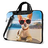 Laptop Bag,Chihuahua Dog Print 15.6-Inch Laptop Or Tablet, Sleek, Lightweight Toploader, Business Casual Or School