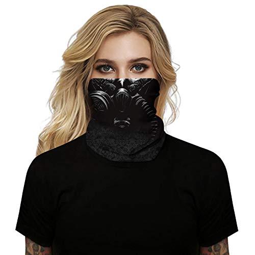 Panegy - Braga de Cuello Deportivo Protección Facial de Cara Antipolución Antipolvo Antiviento Mascarillas Unisex Al Aire Libre
