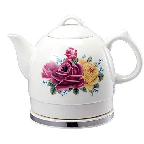 Bouilloires en céramique bouilloire électrique sans fil eau Teapot, Teapot-Retro 1L Jug rapide 8bayfa