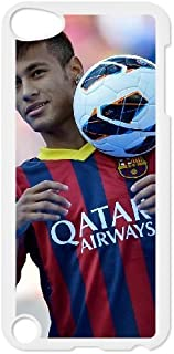 Personalized Durable Cases Ipod Touch 5 White Phone Case Nhnjy Neymar Protection Cover