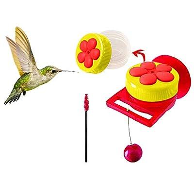 Amazon - Save 80%: Handheld Hummingbird Feeders with Suction Cup, Multifunctional Mini Feed…