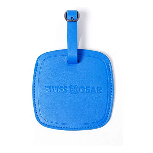 Swiss Gear Jumbo Blue Luggage Tag - Designed Extra-large To Be Easily Spotted on Luggage Carousels