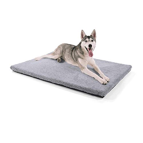 brunolie Manta para perros Luna extragrande, ortopédica, transpirable y lavable, con espuma viscoelástica respetuosa con las articulaciones, tamaño XL (120 x 85 x 5 cm)